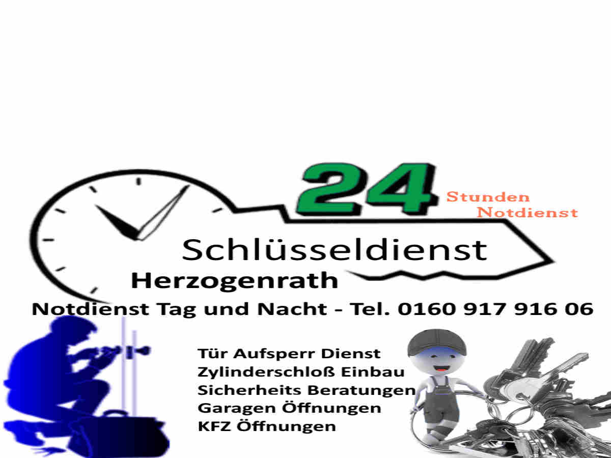 Schlüsseldienst Herzogenrath mit 50 Euro Festpreis für jede Öffnung