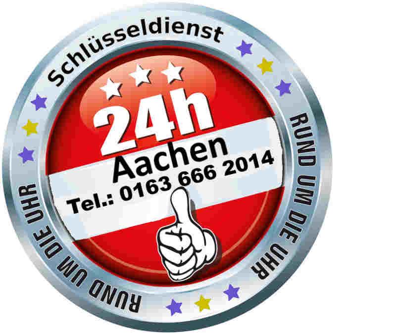 Schlüsseldienst Aachen Notdienst Tag und Nacht zum 50 Euro Festpreis bei kostenfreier Anfahrt im Kreis Aachen