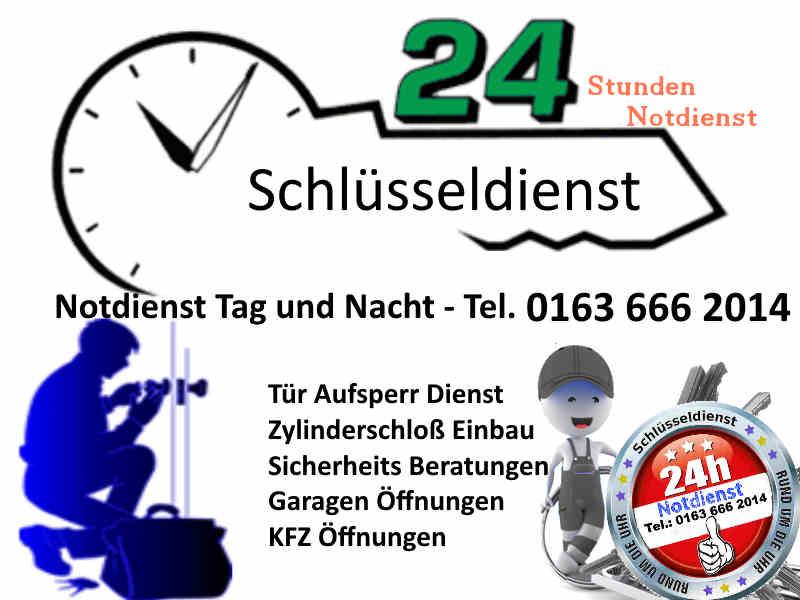Schluesseldienst Notdienst NRW Tel 0163 666 2014