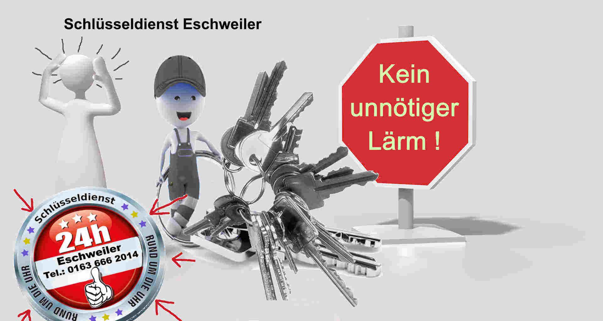 Schlüsseldienst Eschweiler - Tür öffnen fast lautlos - Es geht auch anders !
