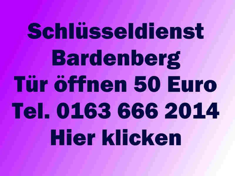 Schlüsseldienst Würselen Bardenberg 50 Euro Endpreis